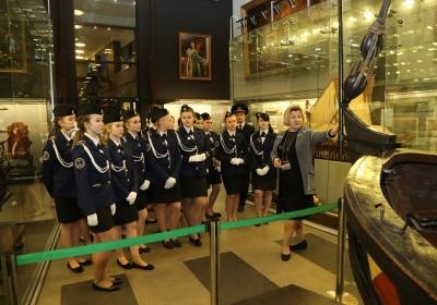 в Центральном военно-морском музее