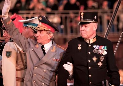 Генерал Халилов, полковник Х. Апфольтерер