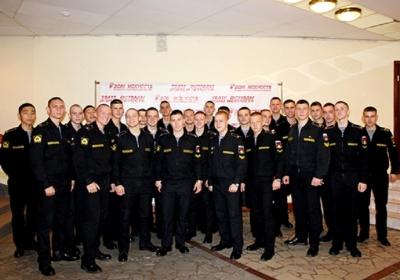 Команда Калининградского филиала ВУНЦ ВМФ «Морские волки»