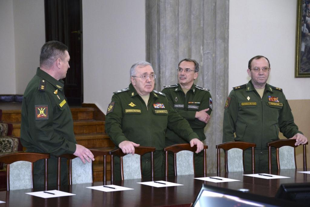 Первый заместитель Министра обороны России Руслан Цаликов