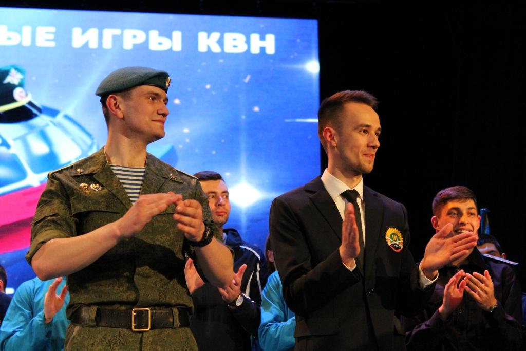 КВН среди команд военных училищ Минобороны России