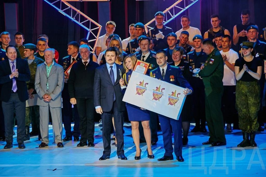 Награждение лауреатов XII Всероссийского фестиваля «Катюша»