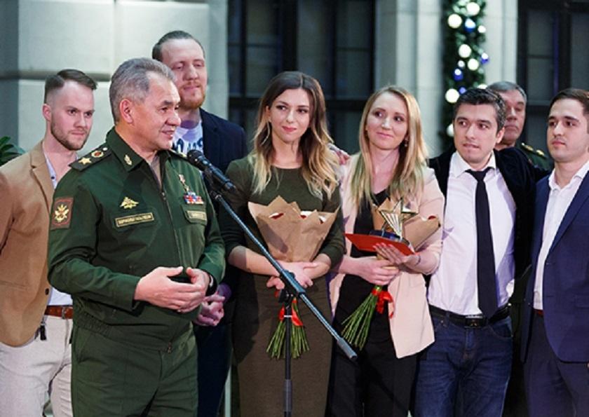 Сергей Шойгу наградил победителей конкурса «Новая Звезда»
