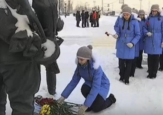 Воспитанницы Пансиона Минобороны России