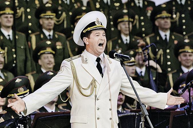 выступлению в Таллине ансамбля песни и пляски Российской армии