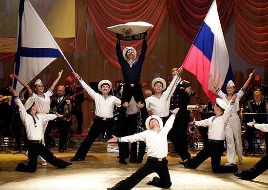 ансамбль песни и пляски Краснознамённого Северного флота