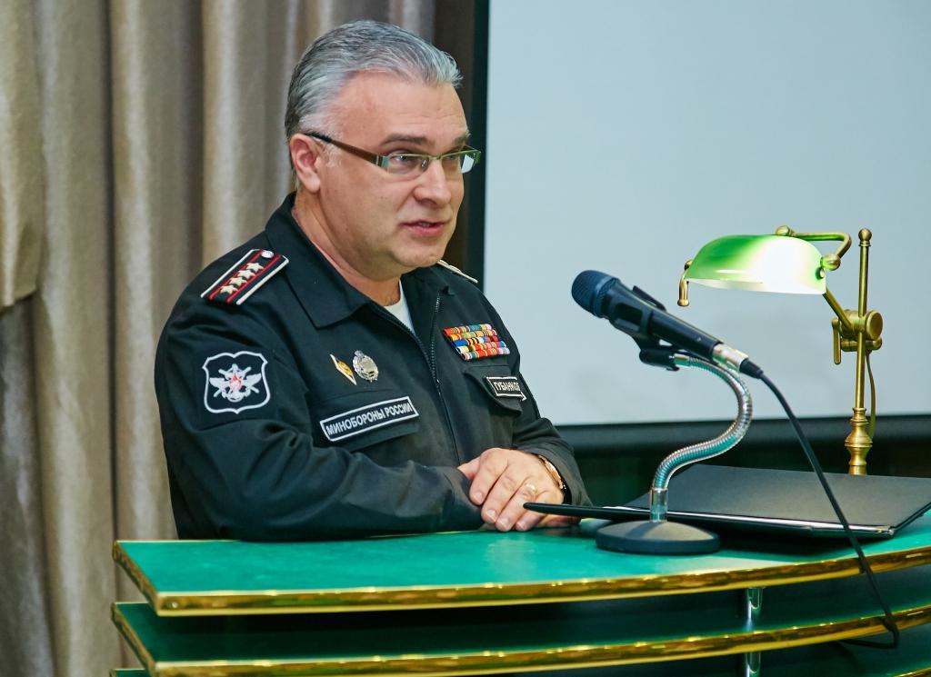 Антон Губанков - начальник управления культуры Министерства обороны РФ