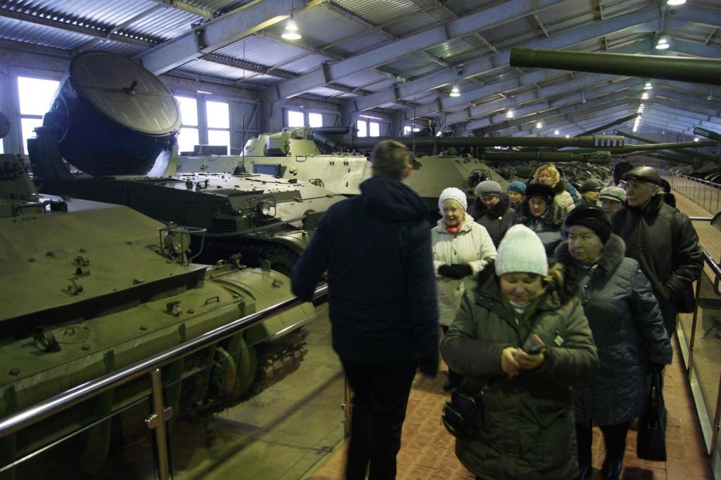 Музее бронетанкового вооружения и техники