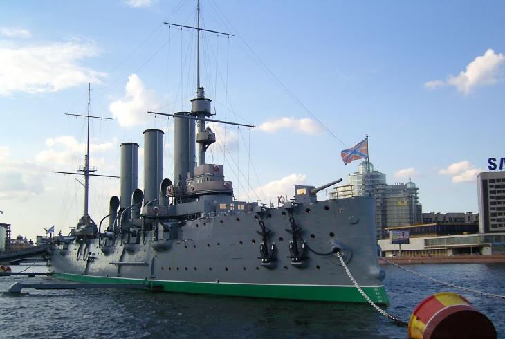 легендарный крейсер «Аврора»