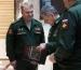 Начальник Самарского ДО вручает Министру обороны России книгу