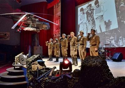 фестивале солдатской песни