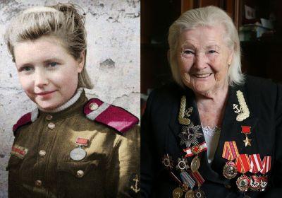 герой Советского Союза Екатерина Дёмина (Михайлова)