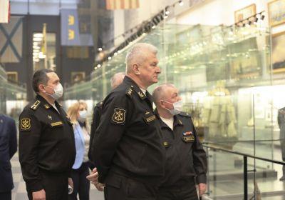 VII Коллегия музеев военно-морской направленности в Санкт-Петербурге