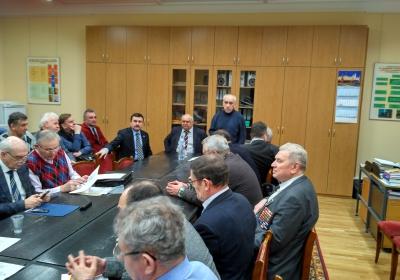 заседание Орг.комитета празднования 50-летия политучилищ