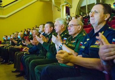 Картаполов на конкурсе «Воин мира» в Екатеринбурге