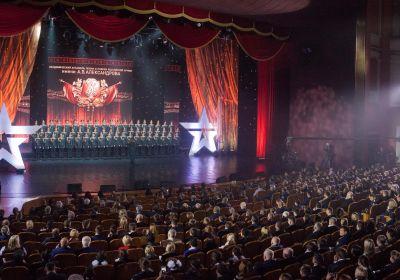 Ансамбль имени А.В. Александрова в ЦАТРА