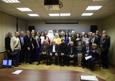 ЦОК ВКС поздравил редакцию газеты «Красная звезда»