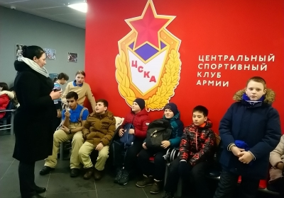 Армейская олимпиада в ЦСКА