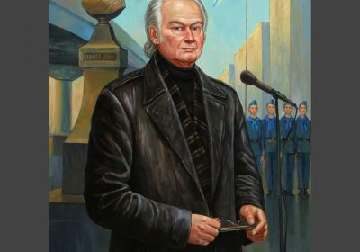 «Валерий Николаевич Ганичев». Художник Филипп Москвитин