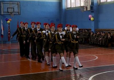 Лучшие юнармейские отряды