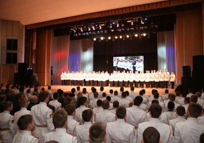 Екатеринбургское суворовское училище отмечает 75-летие со дня основания
