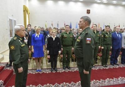 новый начальник Военного университета