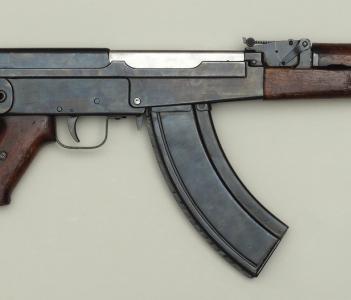 7,62-мм автомат Калашникова АК-46 №1. 1946 год (Фото ВИМАИВ и ВС);