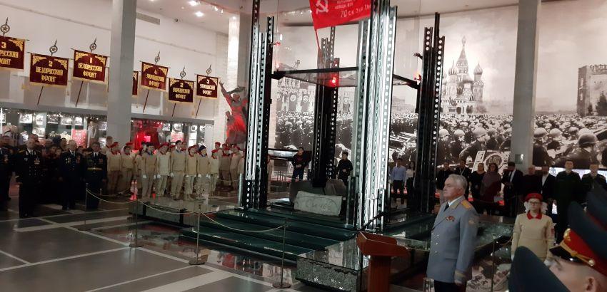 Торжественная церемония передачи земли с мест захоронений