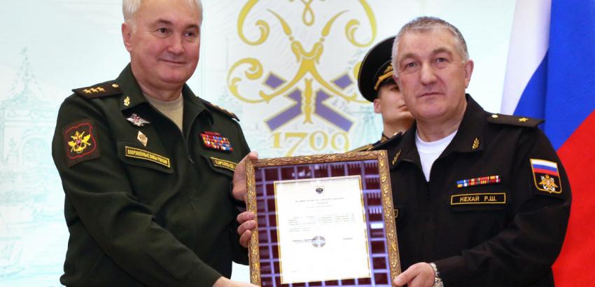 Заместитель Министра обороны РФ Андрей Картаполов поздравил коллектив ЦВММ