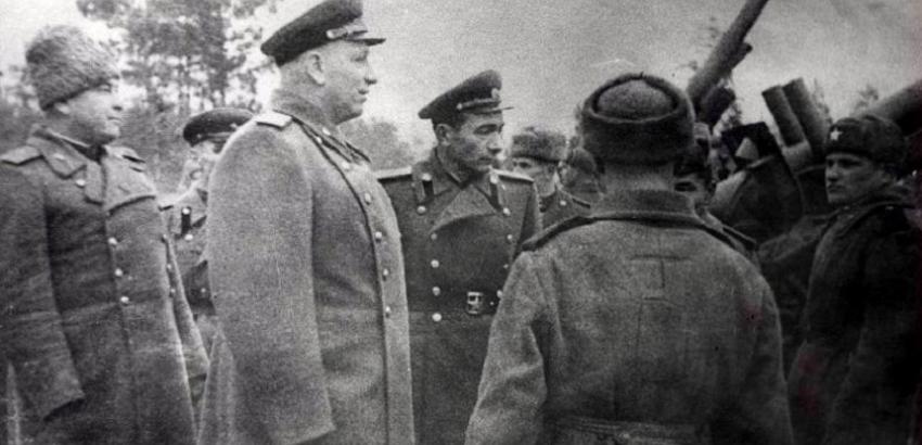 ГЛАВНЫЙ МАРШАЛ АРТИЛЛЕРИИ Н.Н. ВОРОНОВ