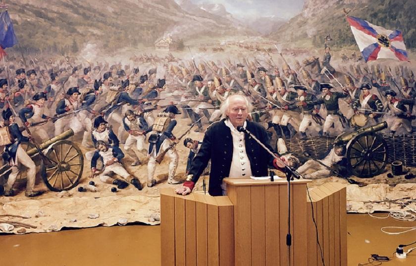 Создатель музея Суворова Вальтер Геллер