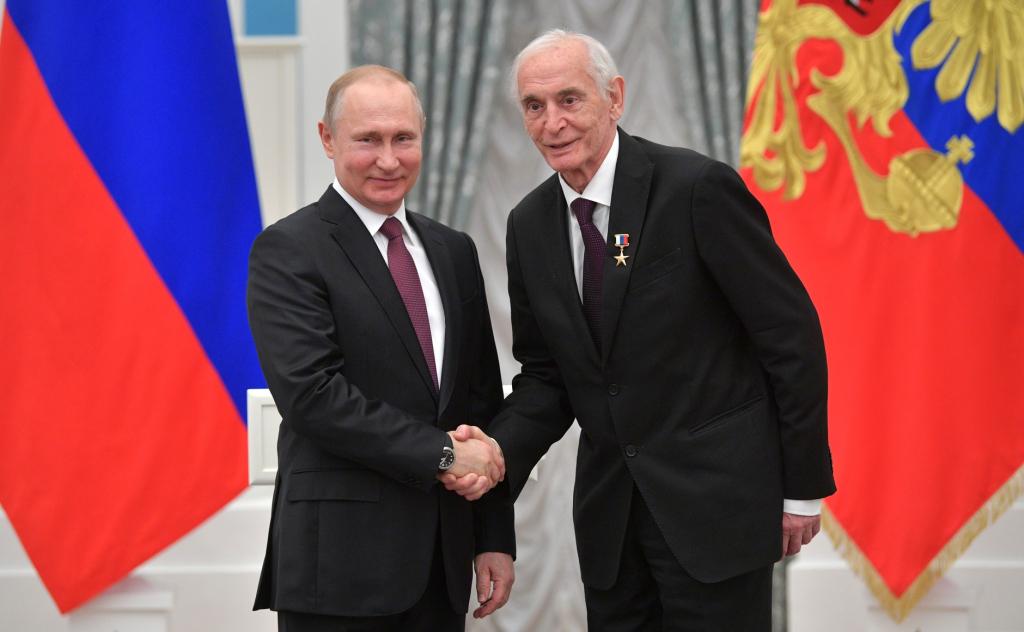 Василий Лановой - Владимир Путин