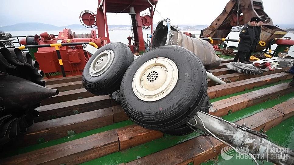 Расследование крушения Ту-154