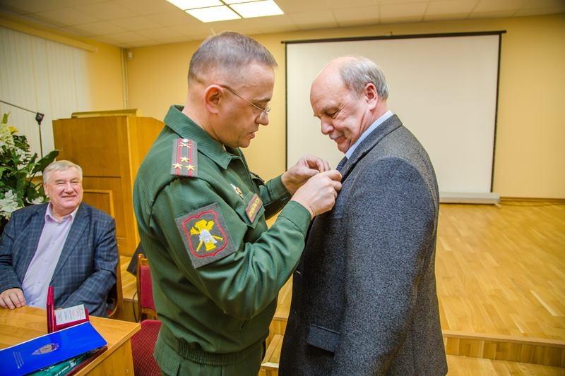 награждение Николая Иванова