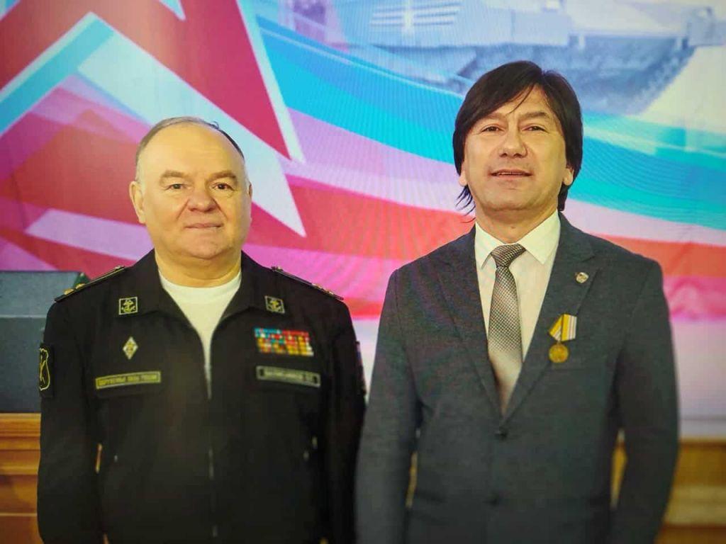 Ян Березкин награжден медалью «Генерал-майор Александр Александров»