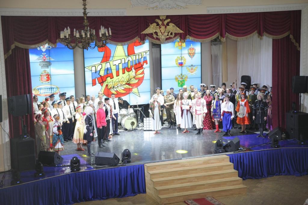 Всероссийский фестиваль народного творчества воинов «Катюша»