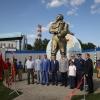 Памятник герою-летчику Валерию Чкалову