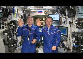 Российские космонавты поздравили Военную академию РВСН с 200-летним юбилеем
