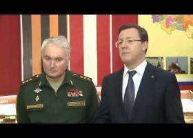 Замминистра обороны России А. Картаполов осмотрел Бункер Сталина