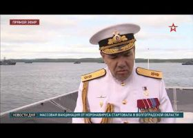 Командующему Северным флотом Александру Моисееву присвоено звание адмирала